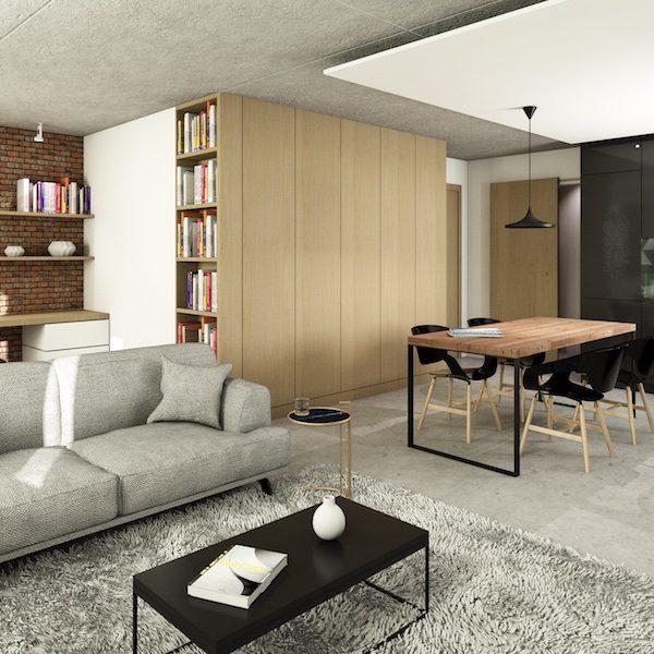 Alcantara31 - 3D - View Living Room1