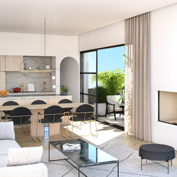 BoaVista77 - Preliminary 3D - FlatC - Livingroom I01v06