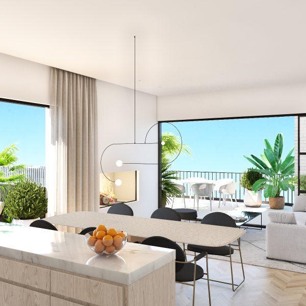 BoaVista77 - Preliminary 3D - FlatC - Livingroom I02v03