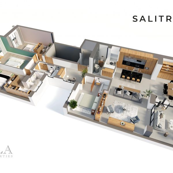 Salitre183 - 3D Blueprint - Floors 3-4-5